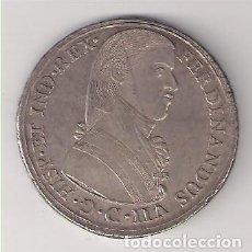Monedas de España: MEDALLA (MÓDULO 8 REALES) PROCLAMACIÓN DE FERNANDO VII EN LIMA EN 1808. PLATA. SIN CIRCULAR (FE7-13). Lote 166280802