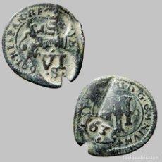 Monedas de España: FELIPE III, IIII MARAVEDIS. SEGOVIA. 1601.(648-LM). Lote 166709088