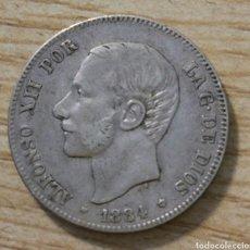 Monedas de España: 2 PESETAS ALFONSO XII 1884*84 MADRID MSM. Lote 166820690