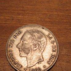 Monedas de España: MONEDA ESPAÑA 2 PESETAS ALFONSO XII 1882. Lote 167553046