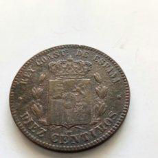 Monedas de España: DIEZ CENTIMOS 1879. Lote 167853405