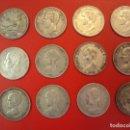 Monedas de España: LOTE 12 MONEDAS PLATA 5 PESETAS ALFONSO XII XIII PROVISIONAL ETC.... Lote 167913728