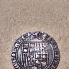 Monedas de España: MUY BONITO REAL CECA DE BURGOS REYES CATÓLICOS. CURIOSA LEYENDA. Lote 168360841