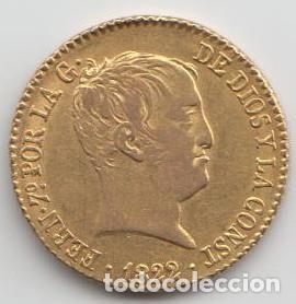 80 REALES - FERNANDO VII 1822 - MBC (Numismática - España Modernas y Contemporáneas - De Reyes Católicos (1.474) a Fernando VII (1.833))