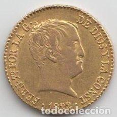 Monedas de España: 80 REALES - FERNANDO VII 1822 - MBC. Lote 169118292