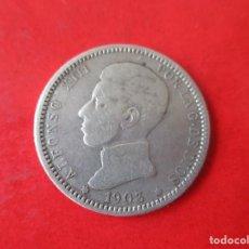 Monedas de España: ALFONSO XIII. 1 PESETA DE PLATA 1903. Lote 169171560