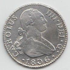 Monedas de España: 2 REALES - CARLOS IIII - 1806 SEVILLA CN. Lote 169386044