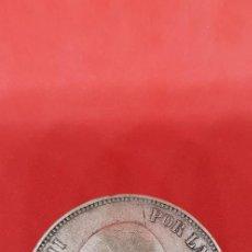 Monedas de España: 5 PESETAS ALFONSO XIII PLATA 1890 MPM (*18-*90) PELÓN. Lote 169920136