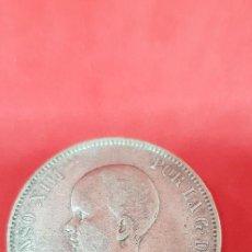 Monedas de España: 5 PESETAS ALFONSO XIII PLATA 1892 PGM (*--*92) PELÓN. Lote 169920852