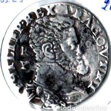 Monedas de España: IMPERIO ESPAÑOL. FELIPE II. NÁPOLES. PRECIOSO MEDIO DUCADO. PLATA. PESO: 12,68. Lote 170368444