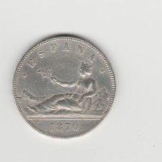Monedas de España: GOBIERNO PROVISIONAL- 5 PESETAS-1870*18-70. Lote 170478724