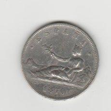Monedas de España: GOBIERNO PROVISIONAL- 5 PESETAS-1870*18-70. Lote 170478856