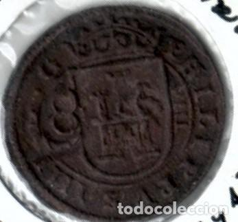 FELIPE IV, BONITOS 8 MARAVEDÍS RESELLADOS (Numismática - España Modernas y Contemporáneas - De Reyes Católicos (1.474) a Fernando VII (1.833))
