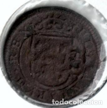 Monedas de España: Felipe IV, bonitos 8 maravedís resellados - Foto 2 - 170533308