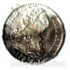Monedas de España: CARLOS III. JETÓN DEÉPOCA DE ALFONSO XIII. 50 CÉNTIMOS. Lote 170859720