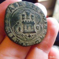 Monedas de España: 4 MARAVEDIES DE LOS REYES CATÓLICOS. CECA DE CUENCA. Lote 118575095