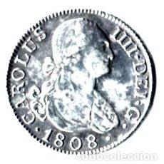 Monedas de España: CARLOS IV. 2 REALES PLATA PRECIOSOS. MADRID, 1808 A I. Lote 171041120