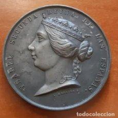 Monedas de España: MONEDA DE ISABEL SEGUNDA Y GUERRA DE ÁFRICA CONTRA MARRUECOS, 1859, GERBIER Y MASSONNET. Lote 171352304
