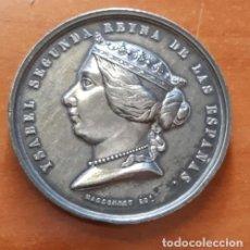 Monedas de España: MONEDA DE ISABEL SEGUNDA Y DESEMBARCO EN CEUTA DEL EJÉRCITO ESPAÑOL, 1859, MASSONNET. Lote 171353333
