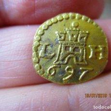 Monedas de España: 1 ESCUDO 1697 DE LIMA , PERU. Lote 171654624