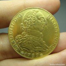 Monedas de España: 4 ESCUDOS. ORO. CARLOS III. MADRID - DV - 1787. Lote 171670589