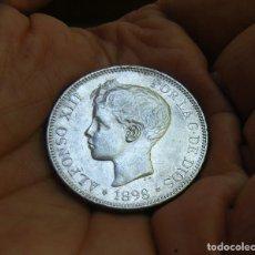 Monedas de España: ALFONSO XIII 5 PESETAS 1898*1898 PLATA. Lote 171716935