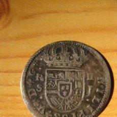 Monnaies d'Espagne: FELIPE V - 2 REALES 1722 SEVILLA. Lote 246459395