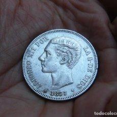 Monedas de España: ALFONSO XII 5 PESETAS 1877*1877 PLATA. Lote 171763607