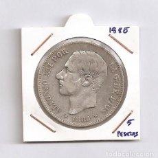 Monedas de España: ALFONSO XII 5 PTAS PLATA 1885 MPM. Lote 171783019