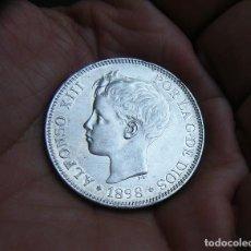 Monedas de España: ALFONSO XIII 5 PESETAS 1898*1898 PLATA . Lote 171992593