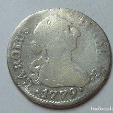 Monedas de España: MONEDA DE PLATA DE 2 REALES DE 1779 DE CARLOS III, CECA DE SEVILLA, ENSAYADORES C F. Lote 172002739