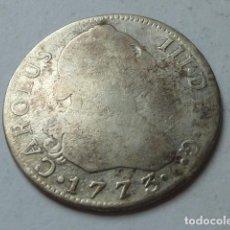 Monedas de España: MONEDA DE PLATA DE 2 REALES DE 1773 DE CARLOS III, CECA DE MADRID, ENSAYADORES P J. Lote 172003683