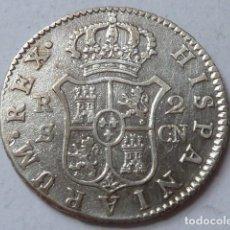 Monedas de España: MONEDA DE PLATA DE 2 REALES DE 1807 DE CARLOS IV, CECA DE SEVILLA, ENSAYADORES C N. Lote 172006378