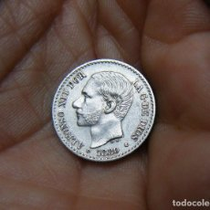Monedas de España: ALFONSO XII 50 CENTIMOS 1880*80 PLATA. Lote 172029979