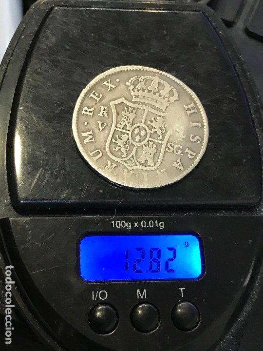 Monedas de España: FERNANDO VII 4 REALES VALENCIA. SG - Foto 3 - 172257494