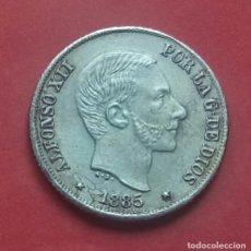 Monedas de España: ALFONSO XII 10 CENTAVOS DE PESO 1885 (EBC). Lote 172344259