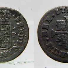 Monedas de España: MONEDA DE FERNANDO VI 1/2 REAL MADRID 1759 J PLATA. Lote 172357785