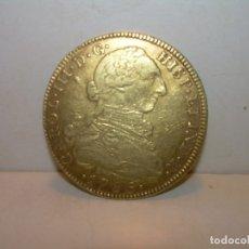 Monedas de España: RARA MONEDA DE ORO.NUEVO REINO.(ESCASA)...8 ESCUDOS...(ONZA DE ORO)..CARLOS III....1786. MBC.+.. Lote 173058537