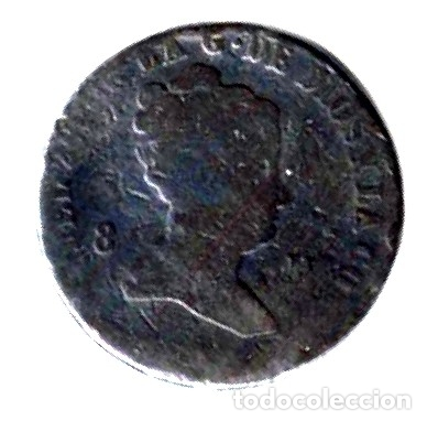 ISABEL II. 8 MARAVEDÍS (Numismática - España Modernas y Contemporáneas - De Isabel II (1.834) a Alfonso XIII (1.931))