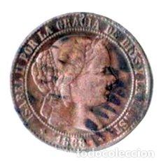Monedas de España: ISABEL II. 2 1/2 CÉNTIMOS ESCUDO. 1868. Lote 173080903