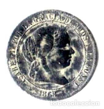 ISABEL II. 2 1/2 CÉNTIMOS DE ESCUDO. 1868. JUBIA. OM (Numismática - España Modernas y Contemporáneas - De Isabel II (1.834) a Alfonso XIII (1.931))