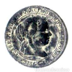 Monedas de España: ISABEL II. 2 1/2 CÉNTIMOS DE ESCUDO. 1868. JUBIA. OM. Lote 173081198