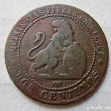 Monedas de España: MONEDA 2 CENTIMOS 1870. USADA. Lote 174013370