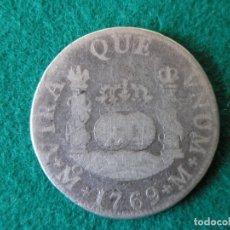 Monedas de España: MONEDA 2 REALES COLUMNARIO - CARLOS III - 1769 - MÉXICO - BC/BC-. Lote 174174378