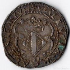 Monedas de España: CARLES I 2 RALS VALÈNCIA DOBLÓ DE 3 SOUS 5,79 G.28,44 MM. EXTRAORDINARIA. Lote 174248179