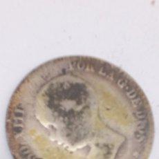 Monedas de España: MONEDA DE PLATA 1892. Lote 174303692