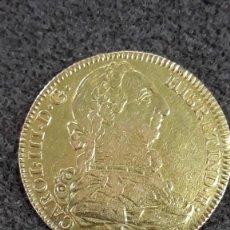 Monedas de España: CARLOS III. 4 ESCUDOS DE ORO 1787. CECA MADRID. Lote 174571744