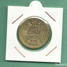 Monedas de España: REPLICA DE LA FNMT. 2,50 PESETAS 1944. Lote 184865726
