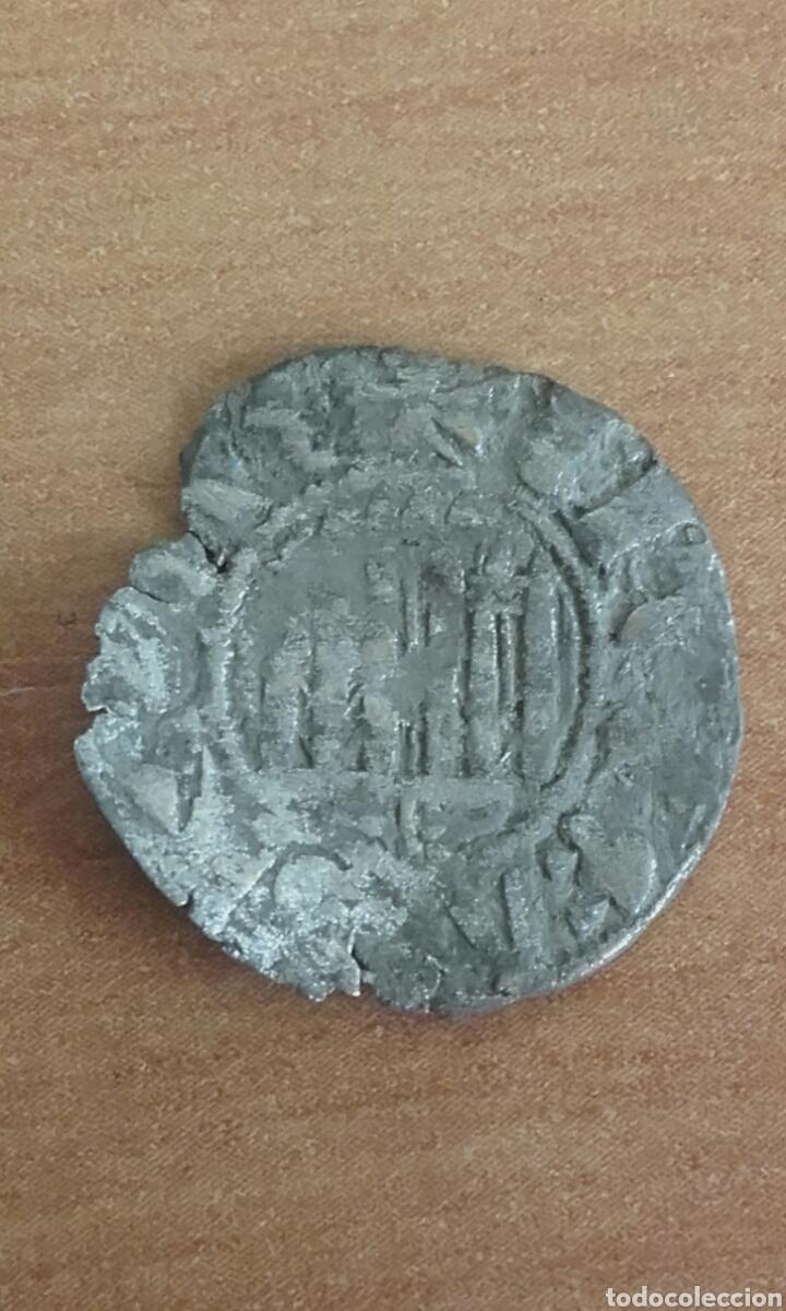 Monedas de España: MON 1478 - MONEDA MEDIAVAL IMPERIO ESPAÑOL - MONEDA DE VELLON - MACUQUINA - Foto 2 - 175136203