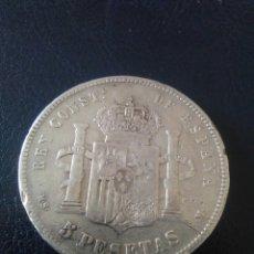 Monedas de España: 5 PESETAS,ALFONSO XII,1885,. Lote 175345994